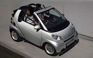 Parking a smart