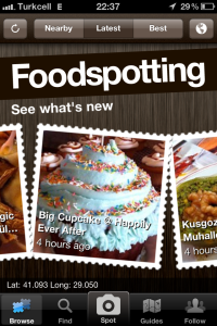 The APPetizing APP: Foodspotting